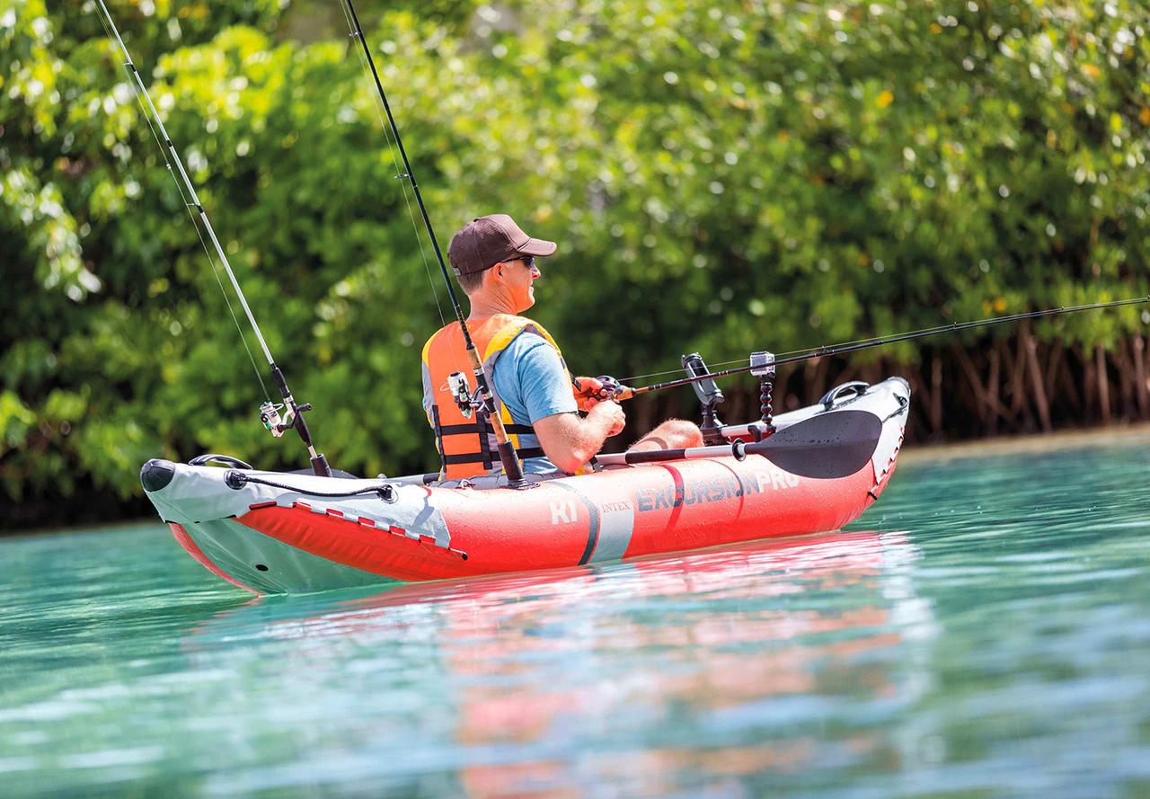 Excursion k1 fishing kayak