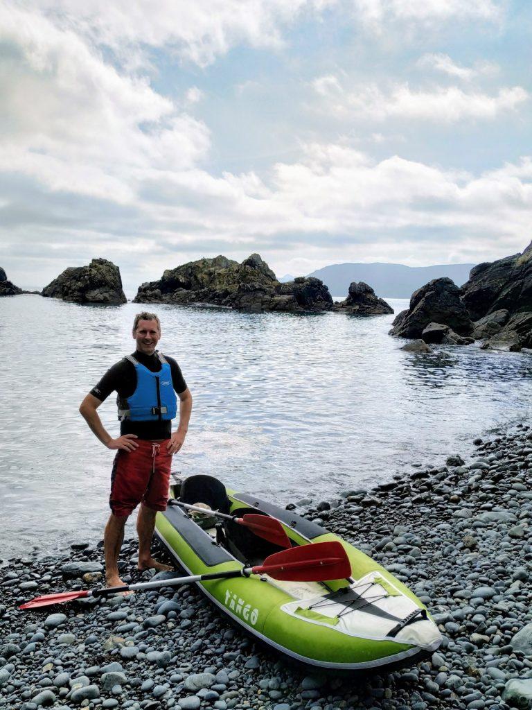 Inflatable kayak Pepin Island